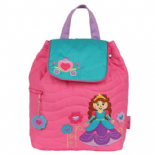 Stephen Joseph Quilted Princess Backpack